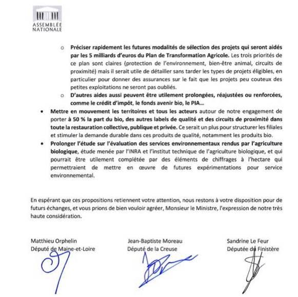 lettre PAC 817