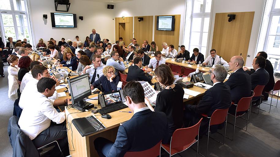 reunion de la commission des affaires economiques 2